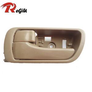 For 02-06 Toyota Camry Inside Driver Front Rear Left Side Beige Door Handle NEW