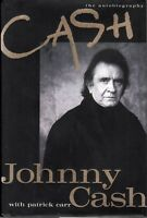 Johhny Cash Classic Rock Book, 1997, The Autobiography Cash~ EX