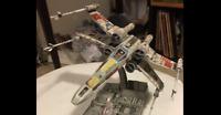 1 STAR WARS Prop Ship LUKE SKYWALKER'S RED FIVE Star Wars X-Wing 1/72 small