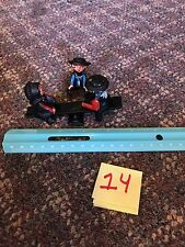 VINTAGE CAST IRON AMISH / QUAKER BOY & GIRL ON A SEE SAW / TEETER TOTTER