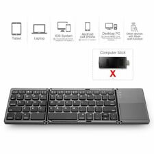 Universal Foldable Bluetooth Keyboard Touchpad Portable for iPad iPhone Windows