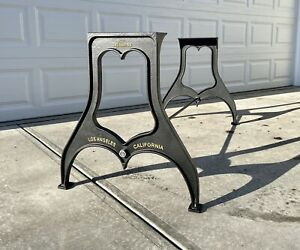 """28"""" Dining Table/desk Height Industrial cast iron table legs base Los Angeles"""