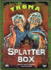 Troma Splatter Box , 3D-Holocover / Lenticular Steelbook , 100% uncut , NEW !