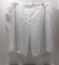 New! Worthington for JCP White Lace Bermuda Dress Shorts.....16W