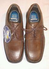 NUNN BUSH Men's Rollinger Split Toe Oxford, Leather Comfort Shoes Brown Sz 8 NEW