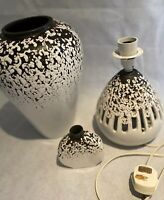 Vintage Shelf Studio Pottery Handcrafted Stoneware Concept Vase, Lamp, Pot 1970s
