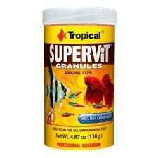 Tropical SUPERVIT GRANULES basic food for ornamental fish 100ml