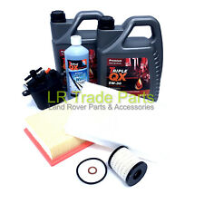 LAND ROVER FREELANDER 2, 2.2 TD4 DIESEL FULL SERVICE FILTER KIT INCLUDING OIL