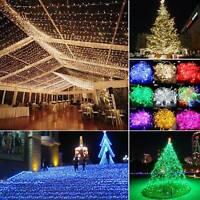 10M/20M/30M/50M LED String Fairy Lights Xmas Garden Tree Wedding Party Decor