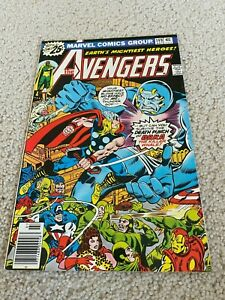 Avengers  149  VF/NM  9.0  High Grade  Iron Man  Captain America  Thor Vision