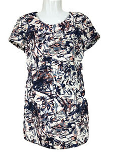 Zara Trafaluc Romper Playsuit Multicoloured Pattern Short Sleeve Size L 12/14