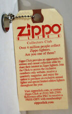 Scarce Zippo Click Club The Cent Never Spent with Penny & Chain ZCVC& Museum