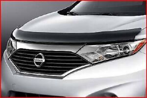 Hood Shield BUG DEFLECTOR Smoke FITS 1993-1998 Mercury Villager Nissan Quest