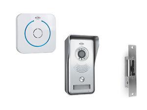 IP Sprechanlage mit Funkklingel und Türöffner, Gegensprechanlage 1 Familienhaus