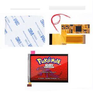 Game Boy Advance IPS Screen Backlit LCD Kit V2 32/40 pin Mod