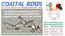 COVERSCAPE computer generated Coastal Birds postcard rate U/O FDC event cover