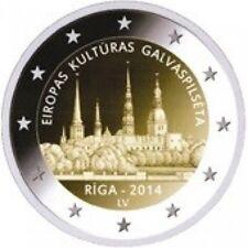 "LETLAND SPECIALE 2 EURO 2014 UNC ""RIGA: CULTURELE HOOFDSTAD"""