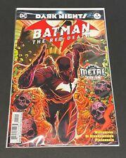 Batman The Red Death #1 2nd Printing Batman Who Laughs Dark Nights Metal DC