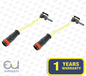 2X NEW FRONT REAR BRAKE PAD WEAR INDICATOR SENSOR FITS MERCEDES A B C E S CLASS