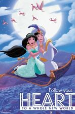 ALADDIN - CARPET RIDE POSTER 22x34 - DISNEY MOVIE INSPIRATIONAL 15561
