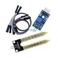10PCS Soil Hygrometer Moisture Water Sensor Detection Module for Arduino