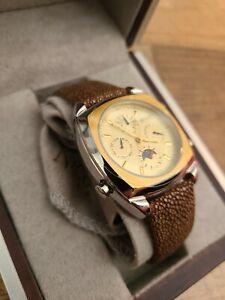 Nicolet 1886 Wrist Watch Automatic Battery RARE