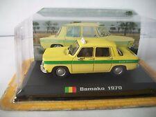 1970 Bamako Renault 8 1/43 Taxi Of The World Amercom