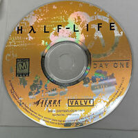 HALF LIFE Day One 1998 Promo Demo RARE PC Game Windows Sierra Valve Disc Only