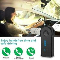 Wireless Bluetooth Receiver AUX Audio Stereo Music Adapter Car 2.4GHz D6N1 Q3C8