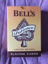 Bells Whisky Limited Edition Playing Cards - pack opened but VGC and complete