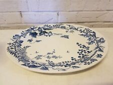 Ant Powell, Bishop & Stonier R3179 English Oval Serving Platter w/ Floral Dec