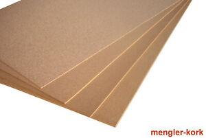 Korkplatten 10 mm super-groß Pinnwand Dämmung von mengler  Wärme, Kälte, Schall