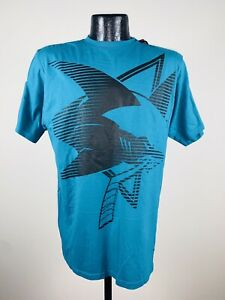 Men's Reebok NHL San Joes Sharks Teal The New SLD Tee Shirt XL