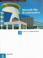 manuale blu di matematica 3 modulo beta- statistica descrittiva -zanichelli