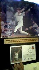 "MARK Mc GWIRE #62 RECORD BREAKING HOME RUN SEPT 8th , 1998 / 12"" x 15"" /  USPS"