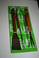 3 Pcs Stainless Steel Barbecue Set Brand New