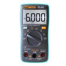 Aneng AN8002 Digital-Multimeter 6000Counts AC / DC-Amperetemperaturtester