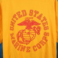 NOS vintage 90s USMC UNITED STATES MARINE CORPS T-Shirt XL military army thin