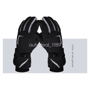 Adult Touchscreen Outdoor Sport Waterproof Ski Snowboard Cycling Hiking Gloves