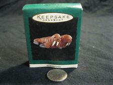 Miniature Hallmark Keepsake Merry Walruses Couple Noah's Ark 1995