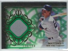 2015 Topps Tribute Don Mattingly Emerals Game Used Jersey 126/150 YANKEES