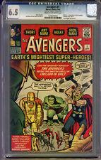 Avengers #1 CGC 6.5 FN+ Universal CGC #1346246002