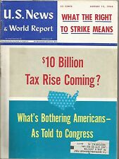 1966 U.S. News & World Report: What The Right to Strike Means