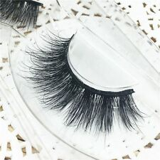 Thick Messy Long 100% Real 3D Mink Fur False Eyelashes Eye Lashes Extension