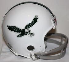 Philadelphia Eagles Logo Throwback Riddell 2 Bar Mini Helmet