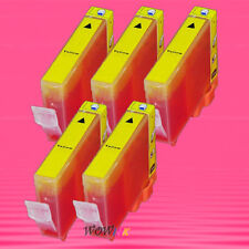5P BCI-3e Y YELLOW INK CARTRIDGE FOR CANON 3010 MPC400