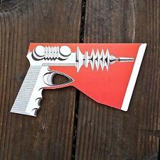 Vintage Original BUCK ROGERS Style Dimestore Toy Pretend Ray Gun 1950s NOS