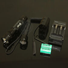 UltraFire 501B CR123A Xenon 7.4V Tactical Flashlight Torch + Mount Charger Set