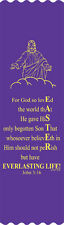 """""""Easter Everlasting Life"""" Easter Bible Bookmark Ribbons, pack of 10 (#6-973)"""