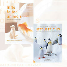 Little Felted Animals and The Natural World of Needle Felting 2 Books Collection